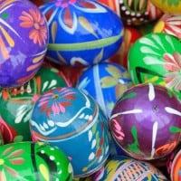ביצי פסחא צבעוניות