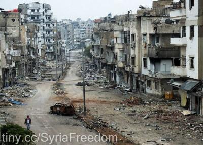 חומס, הרס, סוריה