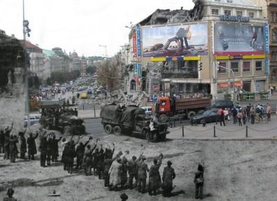 כיכר ווצלב בפראג, 1968