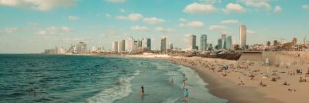 חוף תל אביב, מבט מדרום