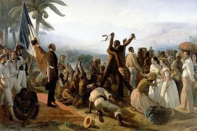 פרנסואה-אוגוסט ביאר, ביטול העבדות במושבות הצרפתיות, Biard