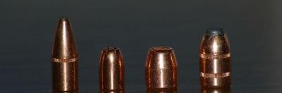 קליעים, אקדח, כדורים