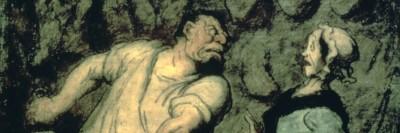 קצב ואישה מבוהלת, אונורה דומייה, שוק מונמרטר