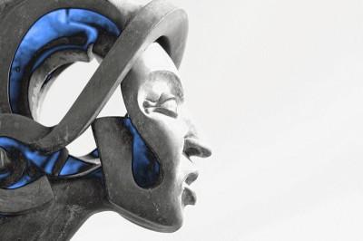 פסל גולגולת אנדרואיד