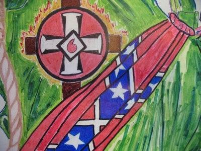 KKK ודגל הקונפדרציה