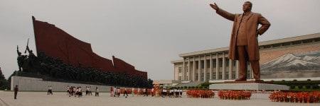 אנדרטה, קים איל-סונג, צפון קוריאה, פיונגיאנג