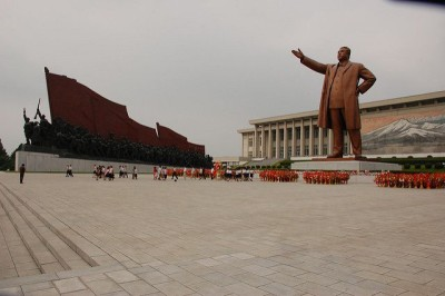 קים איל-סונג, אנדרטה, פיוגניאנג.