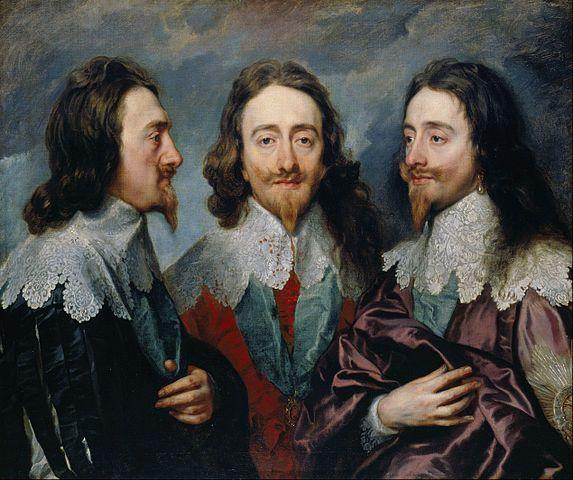 צ'רלס הראשון מלך אנגליה, ואן דייק