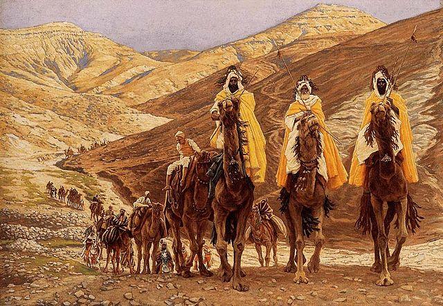 המסע של שלושת מלכי המזרח, ג'יימס טיסו