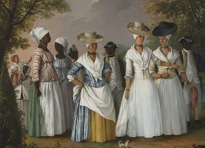 דומיניקה, נשים ומשרתות שחורות, עבדות
