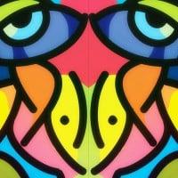 איר לקופסת אוכל, עיניים צבעוניות