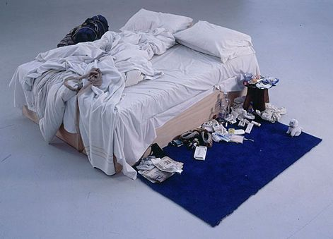 """""""המיטה שלי"""", טרייסי אמין"""