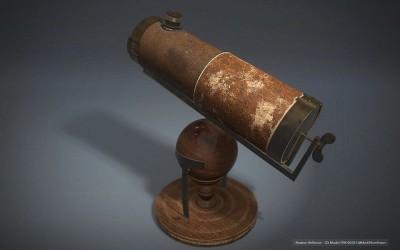 טלסקופ מחזיר אור, ניוטון
