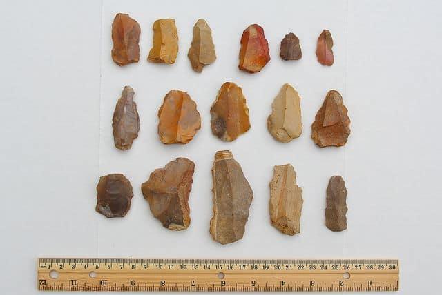 כלי אבן, כלים פלאוליתיים