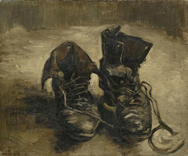 זוג נעליים, ואן גוך, 1886