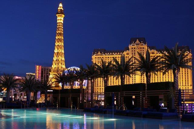 לאס וגאס, מלון, בריכת שחייה