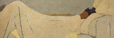 במיטה, אדואר וויאר, Édouard Vuillard