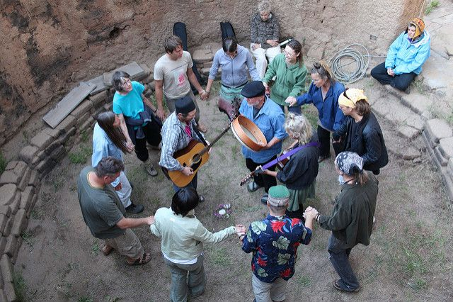 זיכר, טקס סופי, ניו מקסיקו