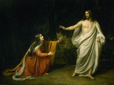 ישו מתגלה למרים המגדלית לאחר תחייתו, אלכסנדר איבנוב