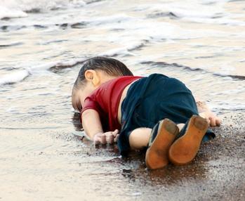 אלאן כורדי, ילד סורי טבוע, חוף תורכיה