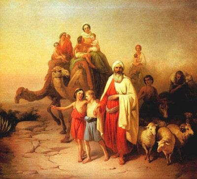 אברהם אבינו יוצא מאור כשדים, יוזף מולנר