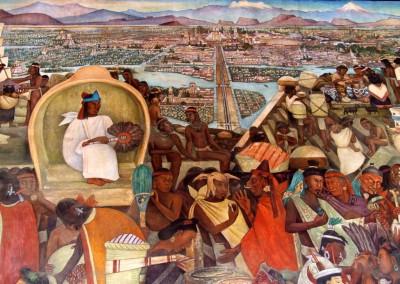 Tenochtitlán, מקסיקו, אצטקים, טנוצ'טיטלאן