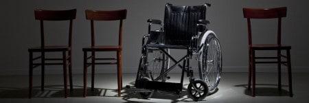 כיסא גלגלים, כיסאות עץ