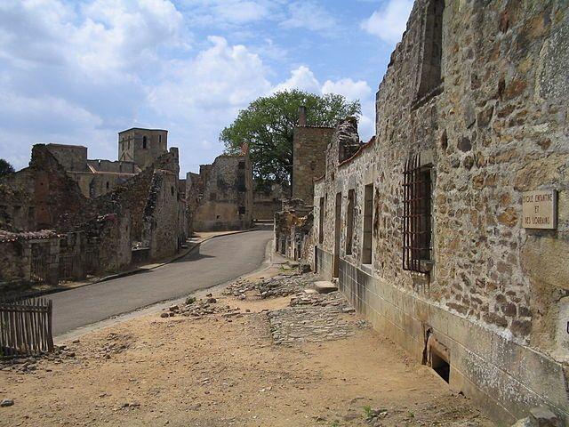 Oradour-sur-Glane, לימוזן, מחתרת צרפתית, נאצים