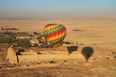 כדור פורח, לוקסור, מצרים
