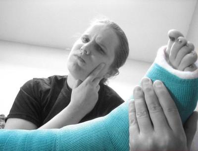 כאב, שיניים, קרסול, שבר