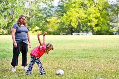 כדורגל, אם ובת, ארצות הברית