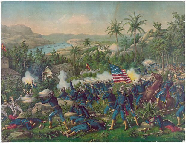 "Las Guasimas, מלחמת ארה""ב-ספרד, 1898"