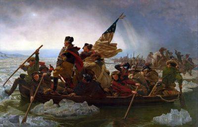 ג'ורג' וושיגנטון, נהר הדלווייר, מלחמת העצמאות אמריקנית