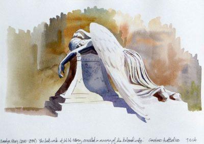 מלאך הצער, Angel of Grief
