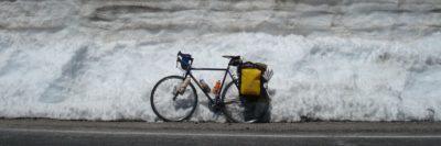 אופניים, שלג