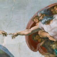 בריאת האדם, מיכאלאנג'לו, הקפלה הסיסטינית