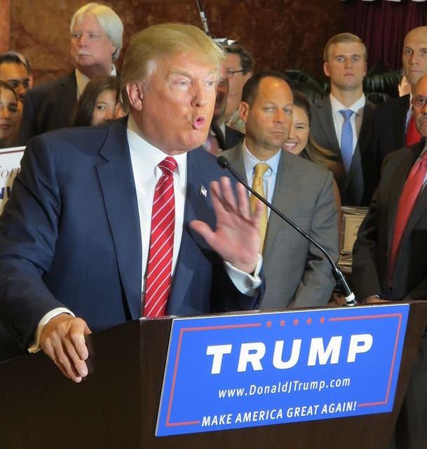 טראמפ, מסיבת עיתונאים