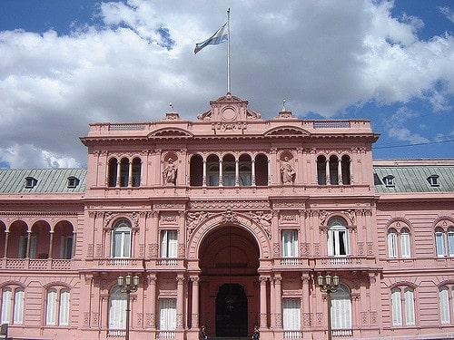הבית הוורוד, בואנוס איירס, ארגנטינה, נשיא