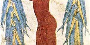 הדייג מאקרוטירי, פרסקה, אמן לא ידוע, עידן הארד באי סנטוריני, יוון