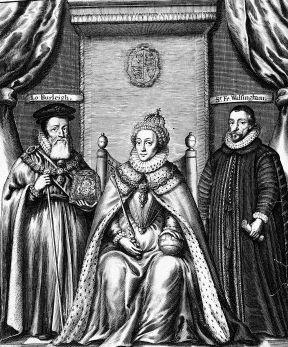 אליזבת הראשונה, וולסינגהם, ברליי