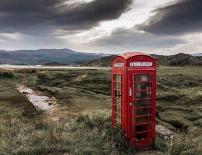 תא טלפון אדום