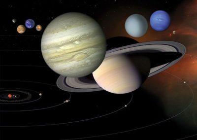 כוכבי לכת, מערכת השמש