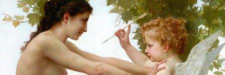 נערה מתגוננת מפני ארוס, ויליאם אדולף בוגרו