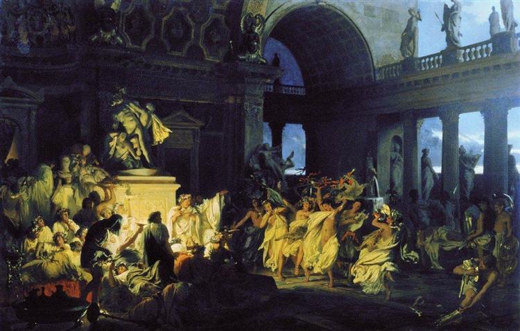 אורגיה, רומי, קיסרים, סימרדזקי