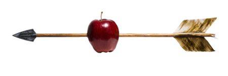 חץ חוצה תפוח