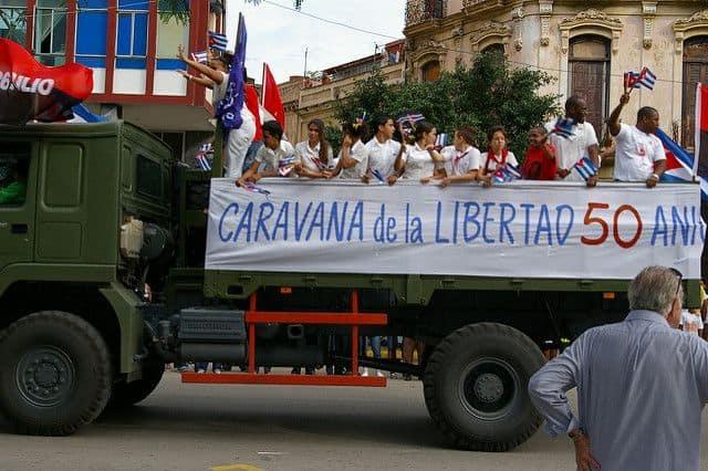 קובה, מהפכה, מצעד