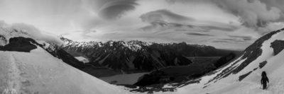 נוף מושלג, מטפס בשלג