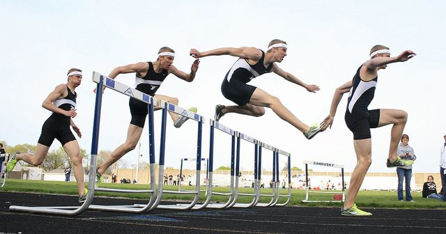 משוכות, רץ משוכות, אתלטיקה