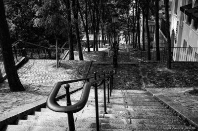 מונמרטר, מדרגות