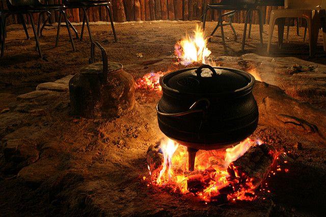 פויקה, Potjie, בישול, קדרה